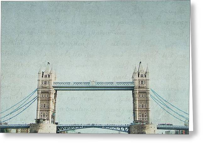Letters From Tower Bridge - London Greeting Card