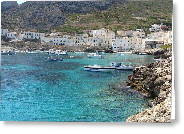 Levanzo Greeting Card