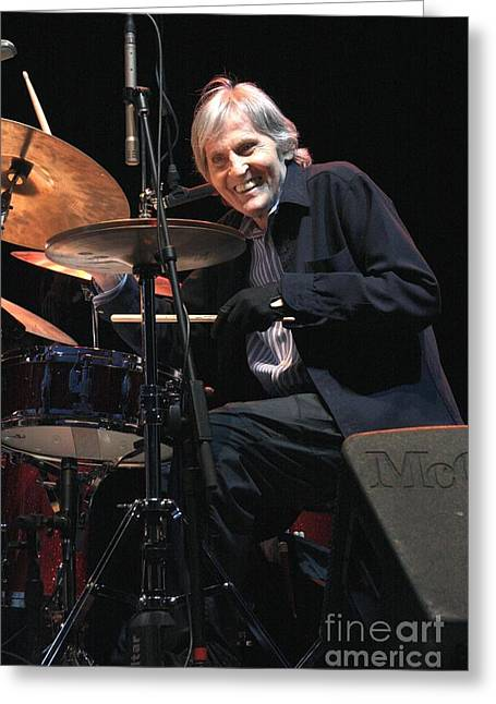 Levon Helm And His All Star Band Greeting Card