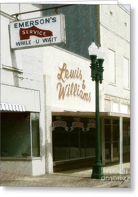 Lewis And Williams Greeting Card