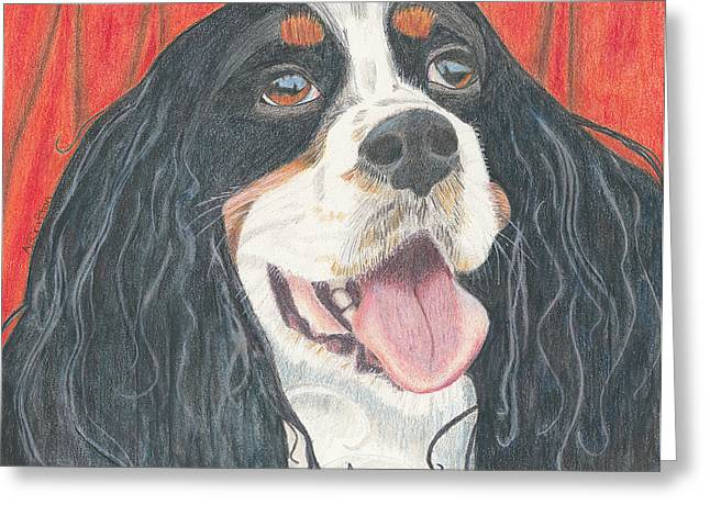 Lexie Greeting Card by Arlene Crafton
