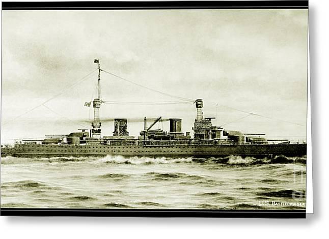 Lexington Class Battle Cruiser Greeting Card
