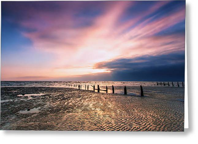 Leysdown Dawn Greeting Card