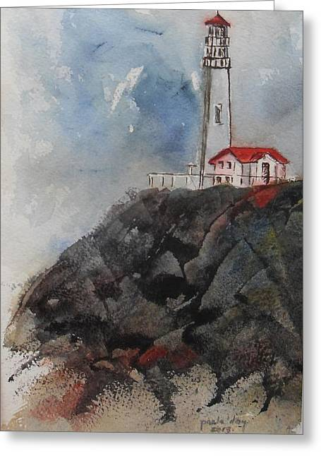 Lghthouse Greeting Card