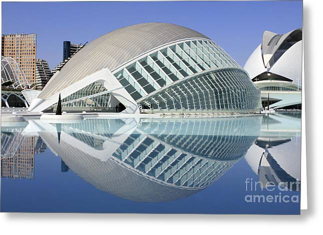 L'hemispheric Valencia Greeting Card