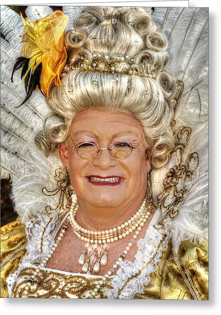 Liberace's Mother Greeting Card by Jeff Stallard