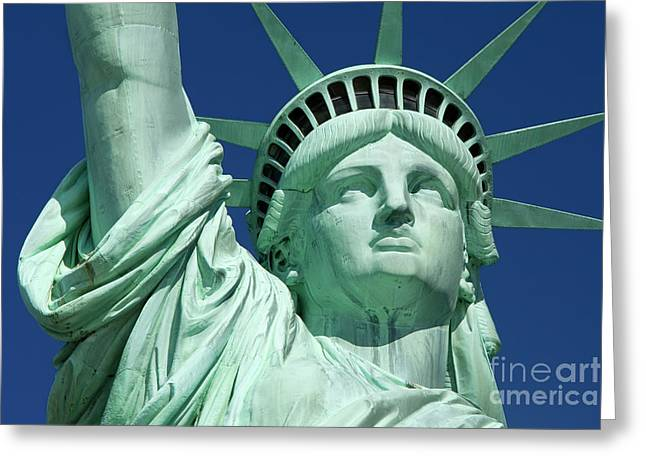 Liberty Greeting Card by Brian Jannsen