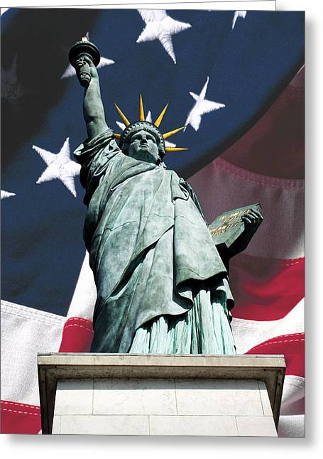 Liberty Greeting Card
