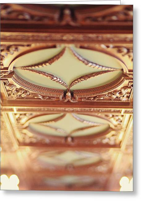 Library Ceiling Greeting Card by Heather Green