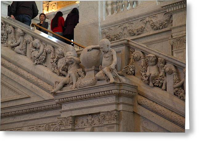 Library Of Congress - Washington Dc - 011313 Greeting Card by DC Photographer