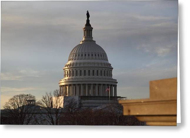 Library Of Congress - Washington Dc - 011320 Greeting Card by DC Photographer
