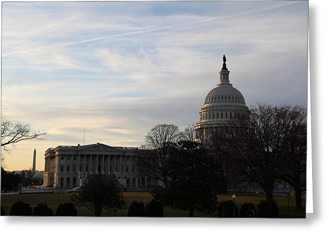 Library Of Congress - Washington Dc - 011325 Greeting Card by DC Photographer