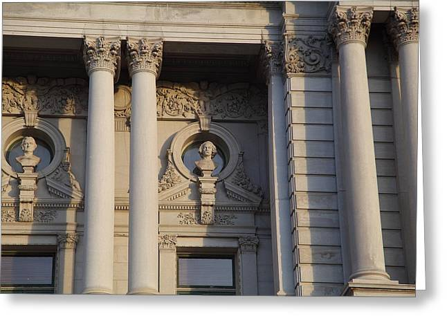 Library Of Congress - Washington Dc - 011326 Greeting Card by DC Photographer