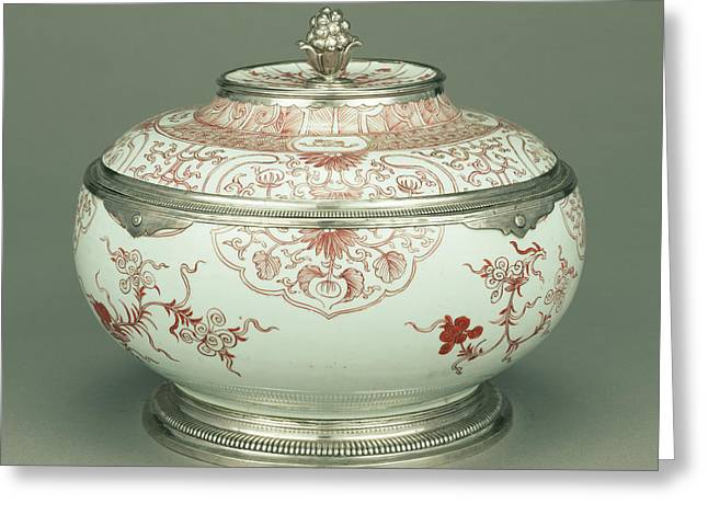 Lidded Bowl Unknown China Greeting Card