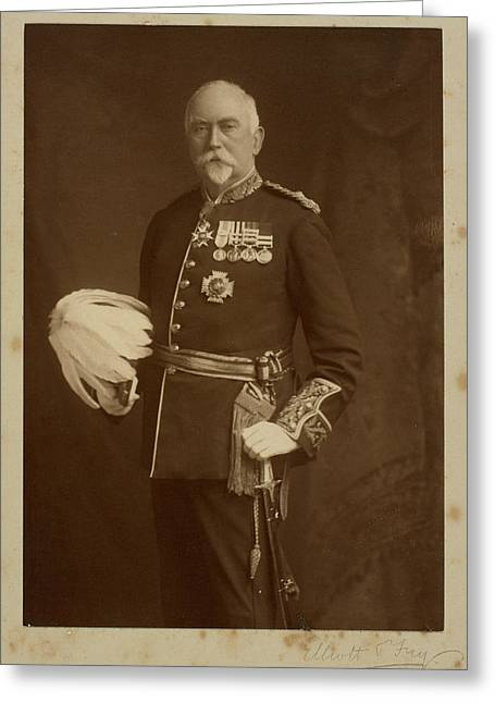 Lieut-general Sir John Withers Mcqueen Greeting Card by British Library