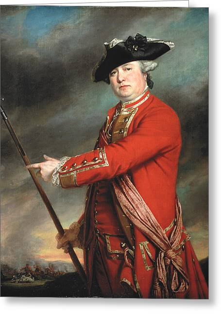 Lieutenant Colonel Francis Smith 1764 Greeting Card by Francis Cotes