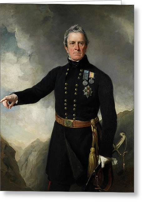 Lieutenant-general Sir George Pollock Greeting Card