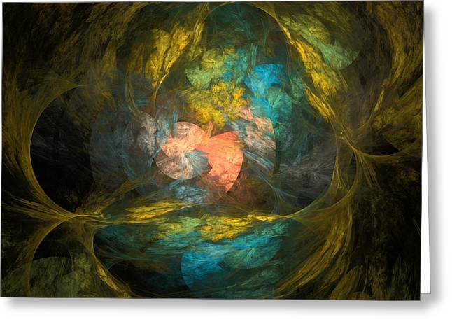 Greeting Card featuring the digital art Life After by Arlene Sundby