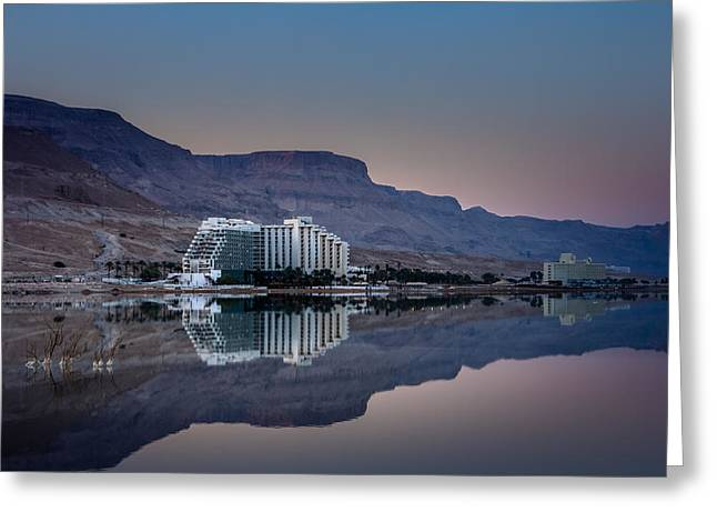 Life At The Dead Sea Greeting Card