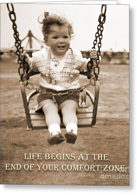Life Begins Greeting Card
