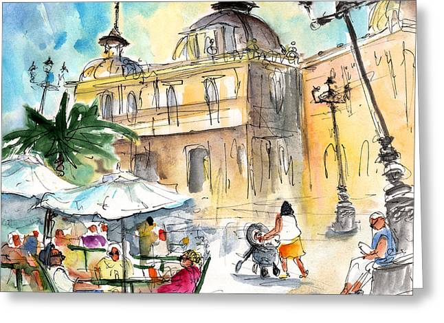 Life In Cartagena 02 Greeting Card by Miki De Goodaboom