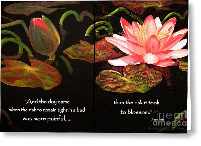Life In Full Bloom Greeting Card by Janet McDonald