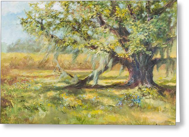 Life In The Low Country Greeting Card by Jane Woodward