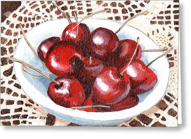 Life Is Just A Bowl Of Cherries Greeting Card