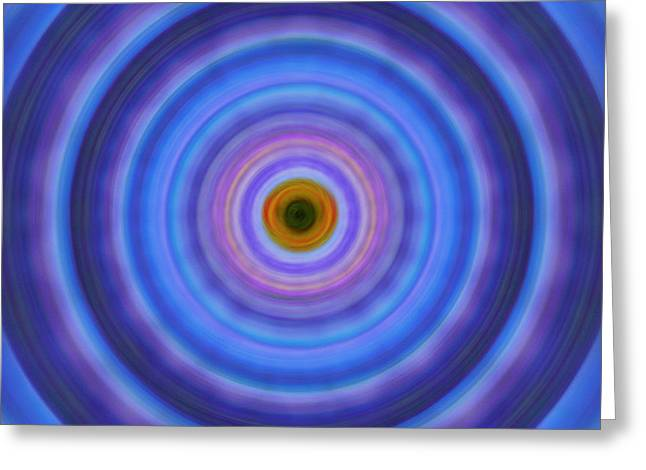 Life Light - Abstract Art By Sharon Cummings Greeting Card by Sharon Cummings