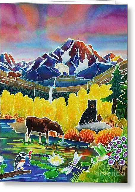 Life Of The Mountains Greeting Card by Harriet Peck Taylor