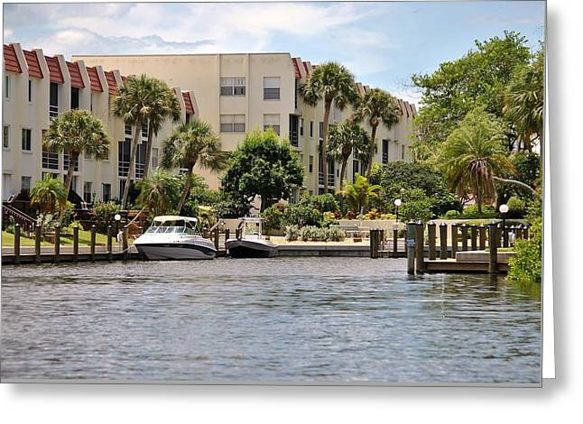 Life On The Intracoastal Greeting Card