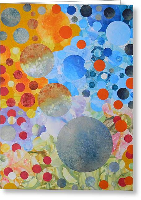 Life The Universe And Everything Greeting Card by Adel Nemeth