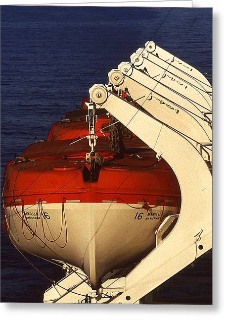 Lifeboats Greeting Card