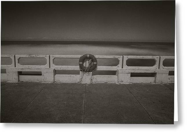 Greeting Card featuring the photograph Lifebuoy by Amarildo Correa