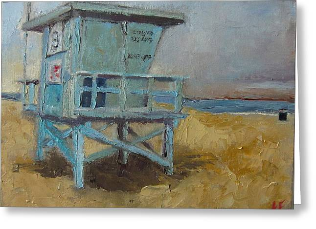 Lifeguard Station One Greeting Card