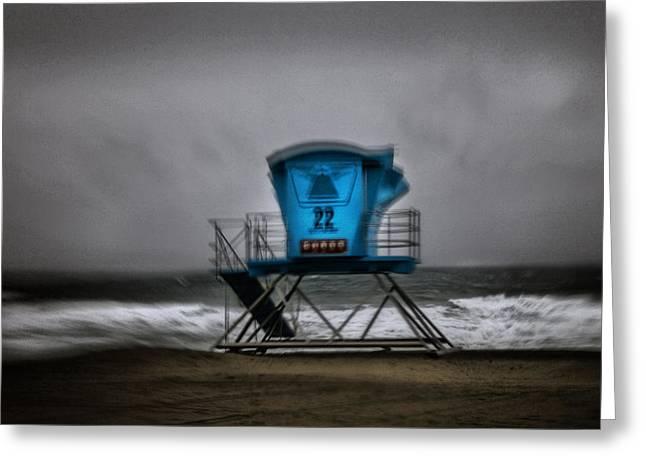 Lifeguard Tower Series - 12 Greeting Card