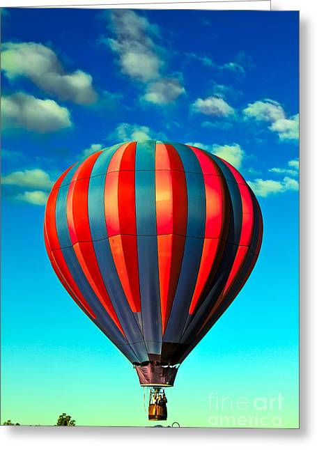 Lift Off Greeting Card by Robert Bales