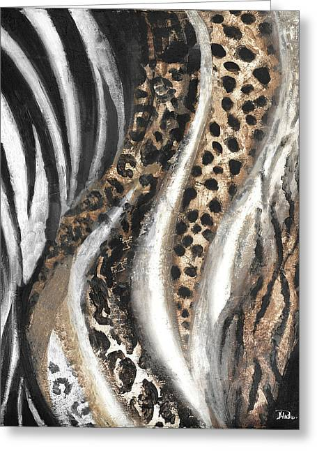Light African Touch I Greeting Card by Patricia Pinto