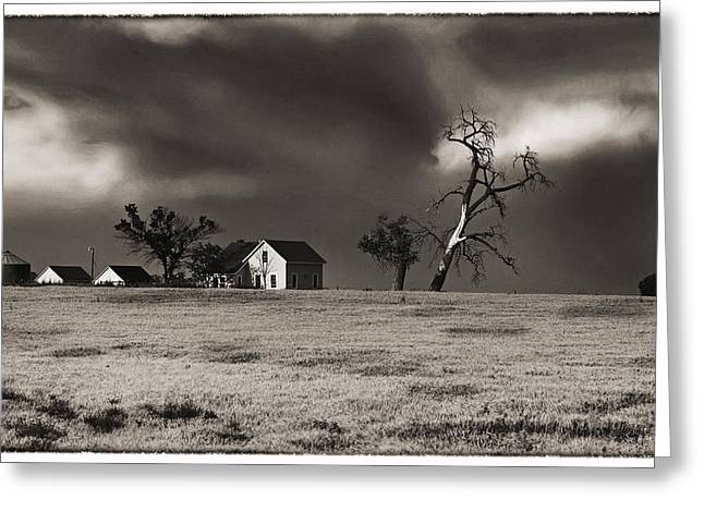 Greeting Card featuring the photograph Light After The Storm by James Steele