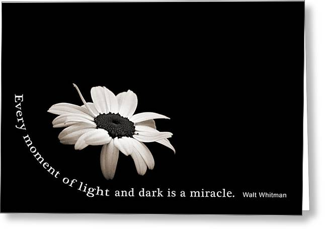 Light And Dark Inspirational Greeting Card