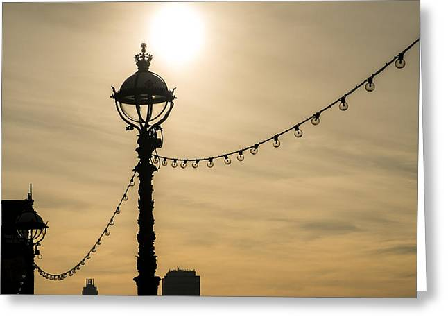 Light And Lights Greeting Card