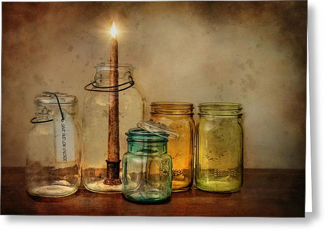 Light And Low Cal Greeting Card by Robin-Lee Vieira