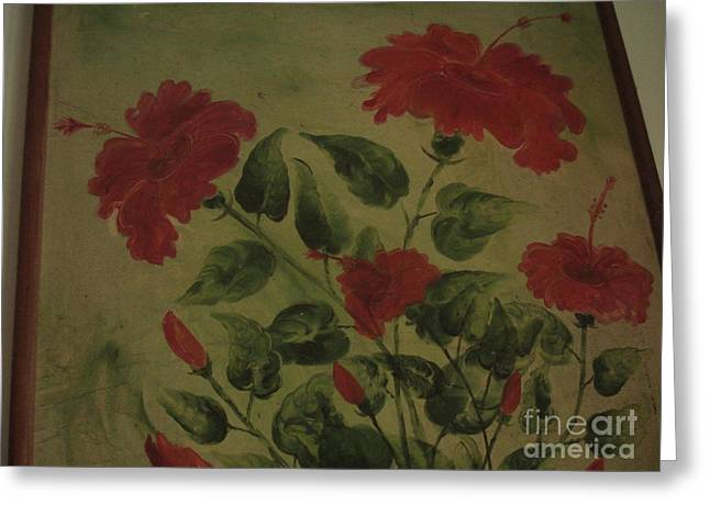 Light And Shadow Greeting Card by Indrani Moitra