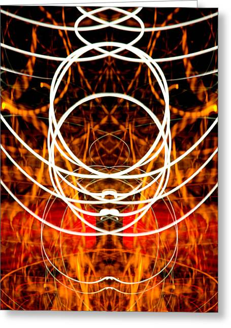 Light Fantastic 31 Greeting Card by Natalie Kinnear