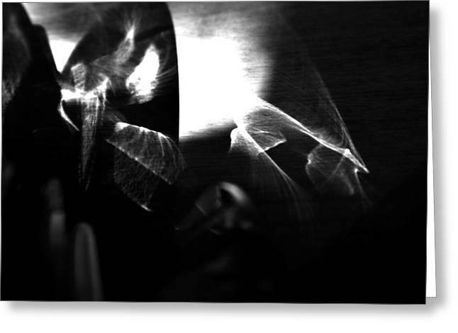 Light Filtering In Greeting Card by Tara Miller