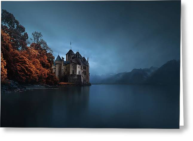 Light Fortification. Greeting Card