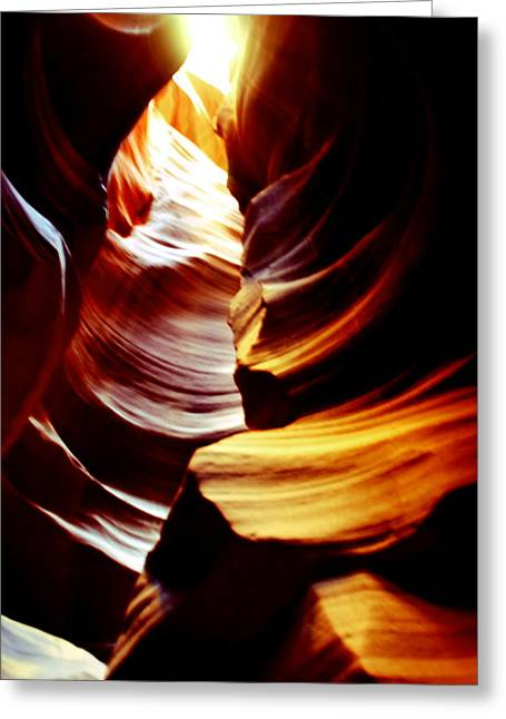 Light From Above  Greeting Card by Aidan Moran