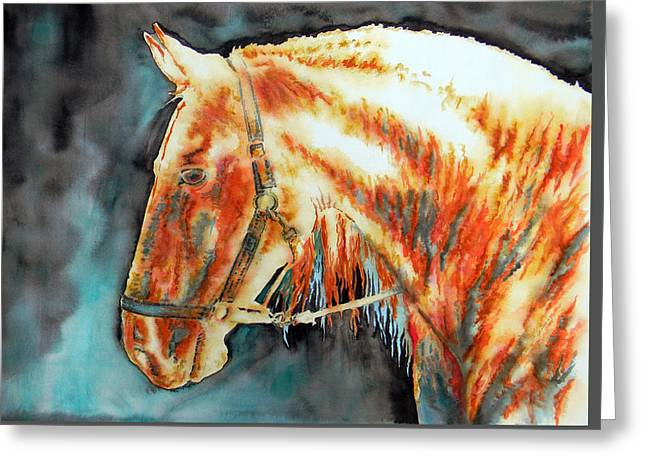 Element Light Horse Greeting Card