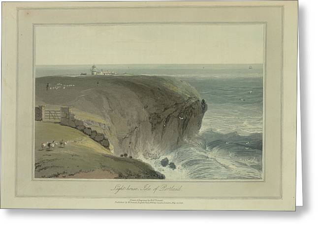 Light-house Greeting Card by British Library