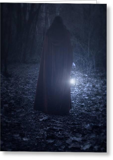 Light In The Dark Greeting Card by Joana Kruse